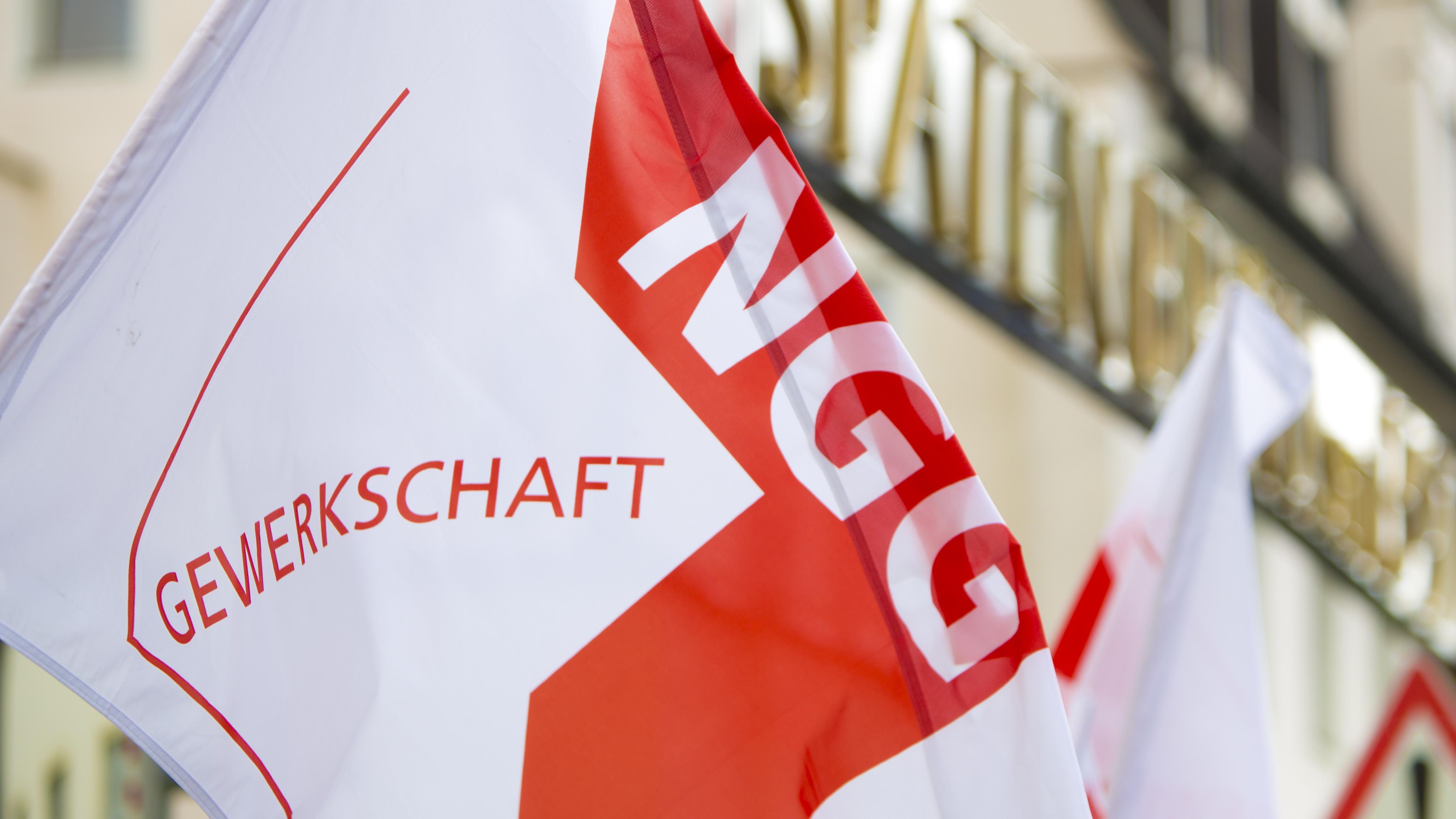 Fahne der Gewerkschaft NGG