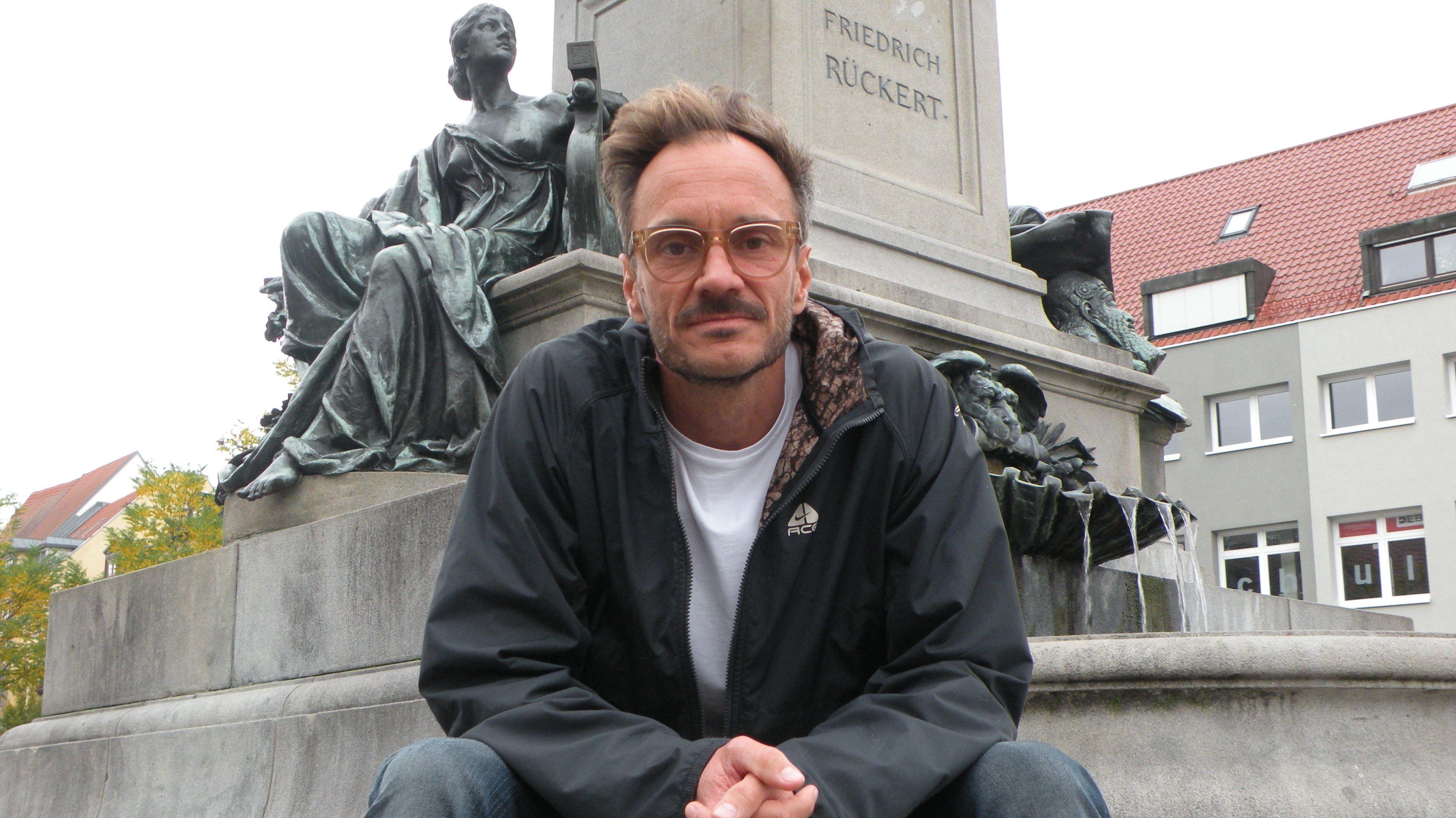 Filmemacher Christoph Gampl in Schweinfurt