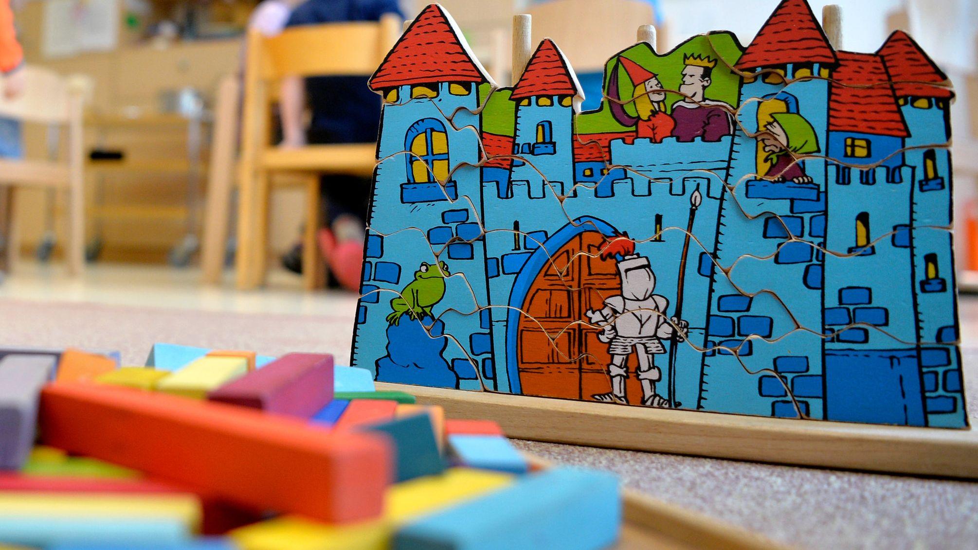 Spielsachen in einer Kita (Symbolbild)