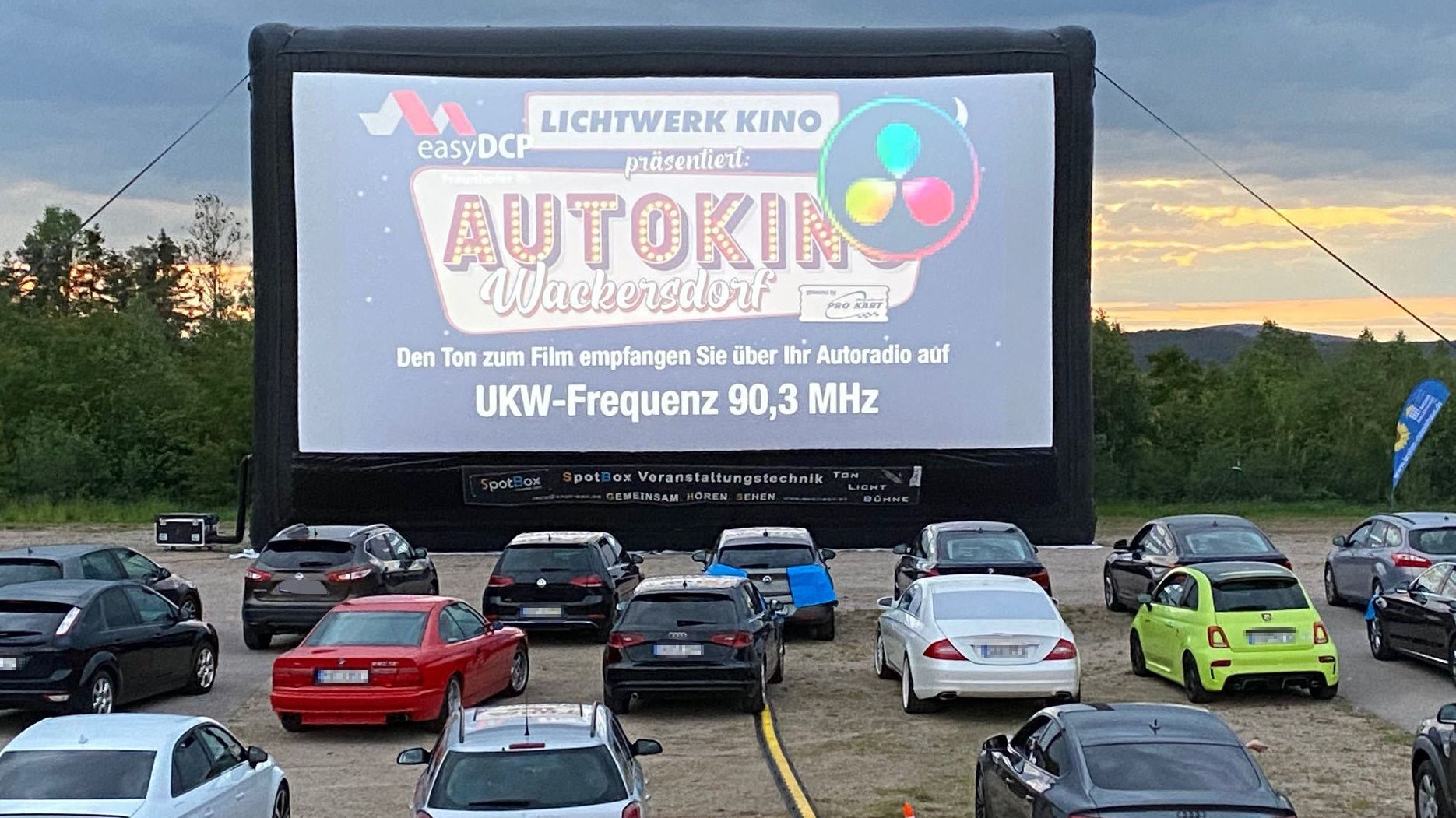 Autokino in Wackersdorf