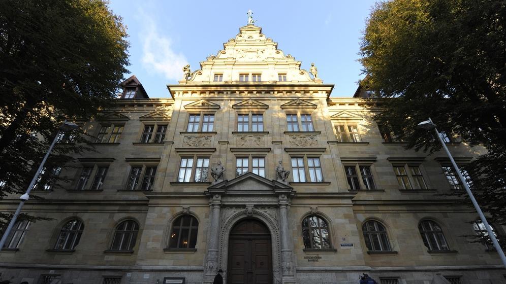 Der Bamberger Justizpalast | Bild:picture-alliance/dpa