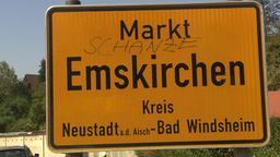 Ortsschild von Emskirchen | Bild:BR