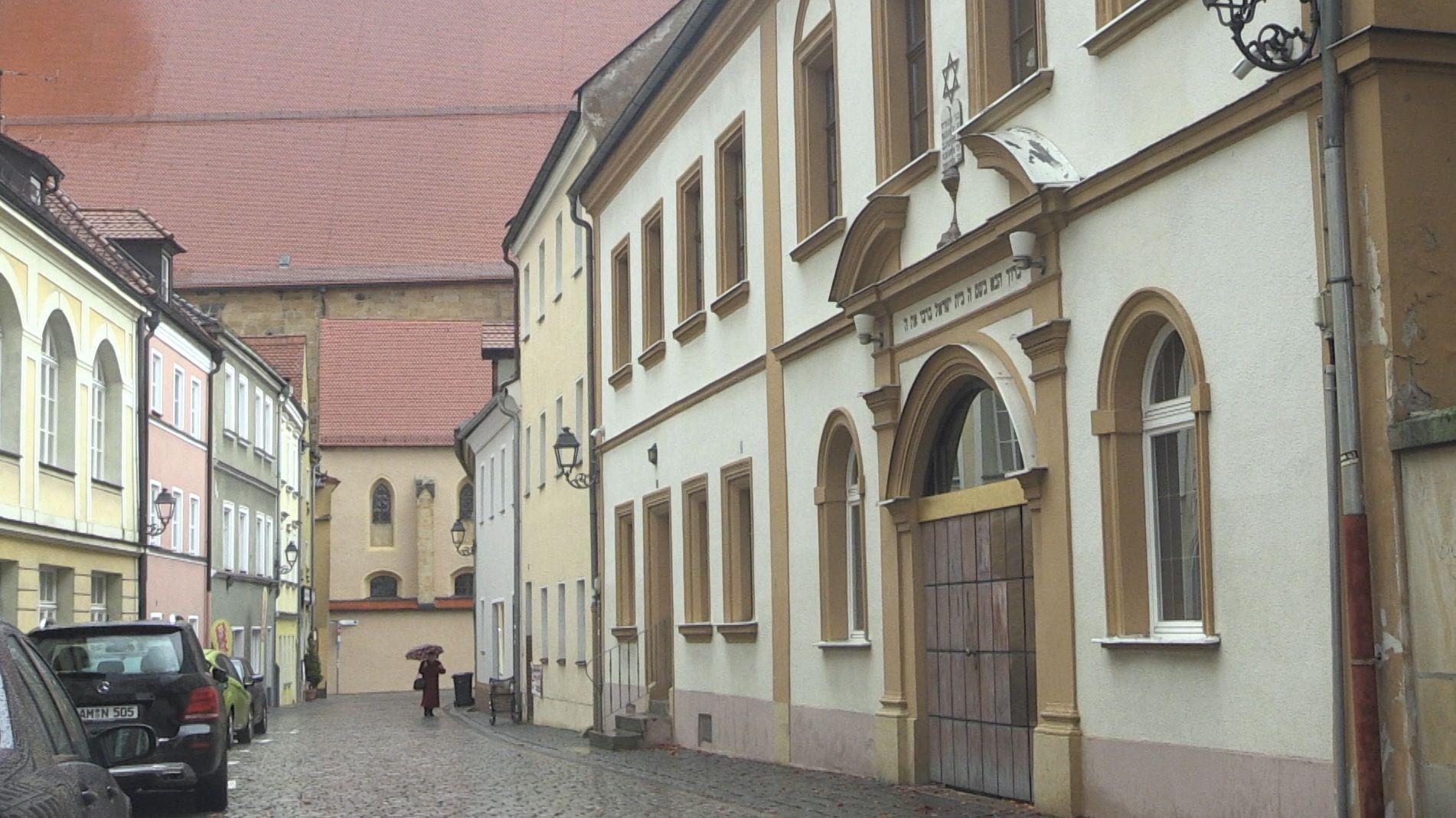 Die Synagoge in Amberg