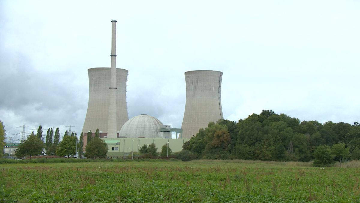 Stillgelegtes Kernkraftwerk Grafenrheinfeld
