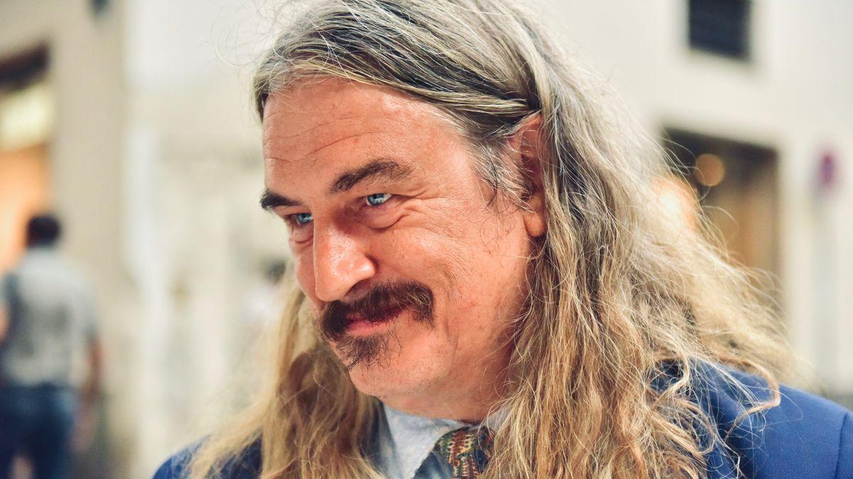 Porträt des Schriftsteller Ilja Leonard Pfeijffer