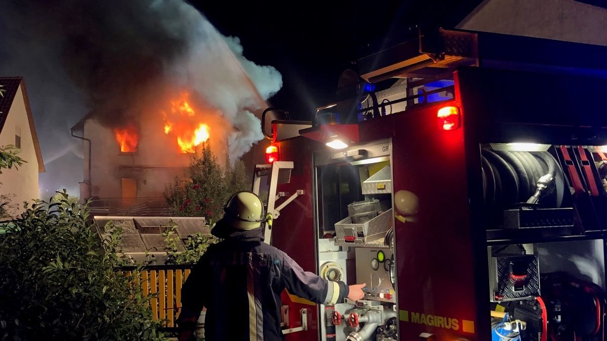 Explosion verursacht Wohnhausbrand in Dingolshausen
