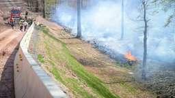 Waldbrand bei Bischbrunn im Landkreis Main-Spessart | Bild:LR-Medien