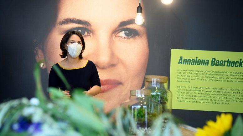 Start des Wahlkampfes von Annalena Baerbock | Bild:dpa-Bildfunk/Soeren Stache