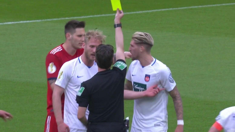 DFB-Pokal: Viertelfinale FC Bayern - Heidenheim