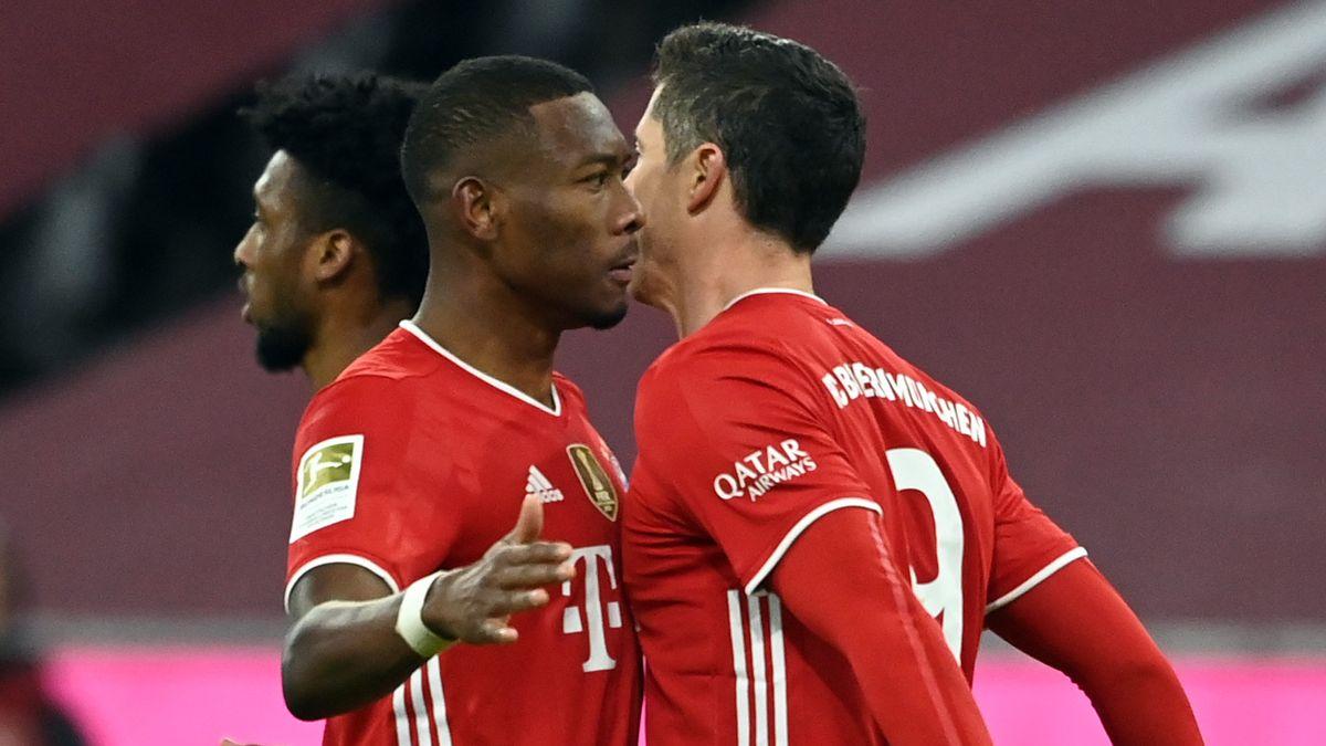 Bekommen keine Länderspielfreigabe: David Alaba und Robert Lewandowski