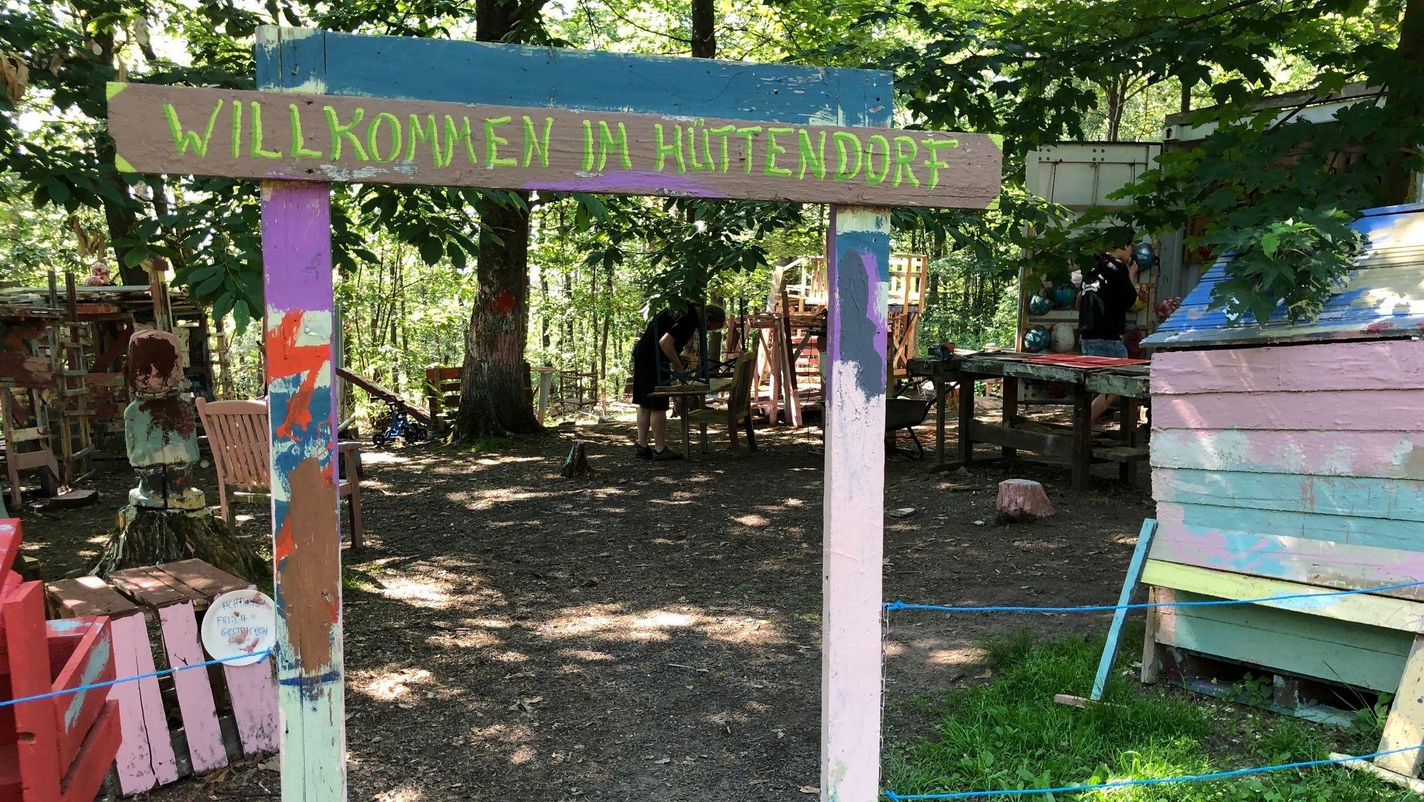 """Der Abenteuerspielplatz """"Knochengarten"""" in Haibach"""