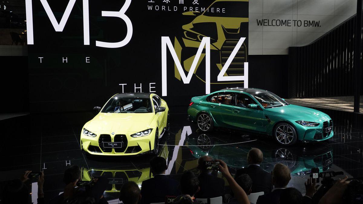 Internationale Automesse in Peking