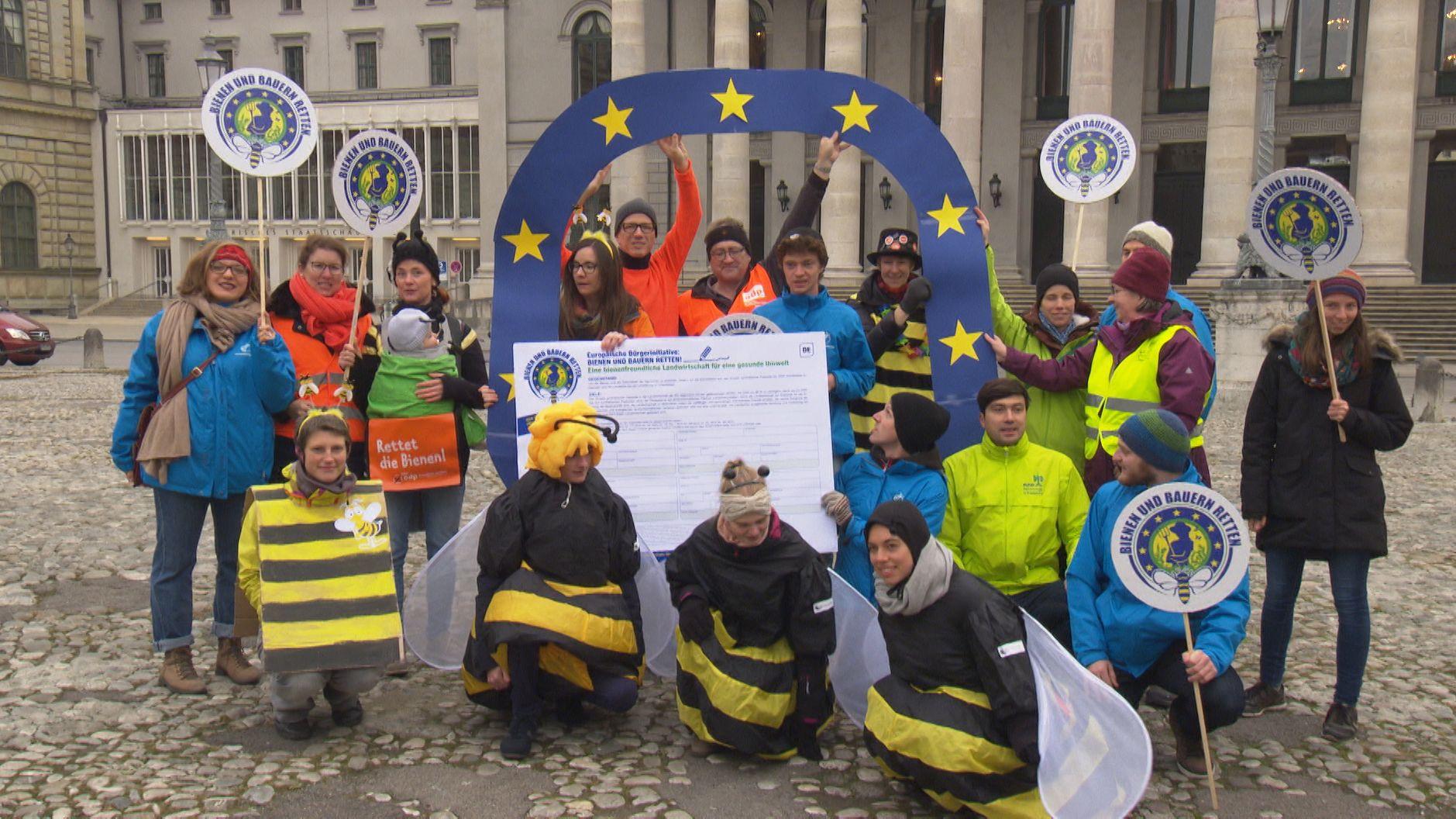 Europäisches Volksbegehren für Bienen und Bauern gestartet