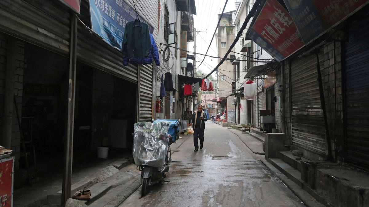 Ehemaliger Tiermarkt, Machang Gebiet in Wuhan