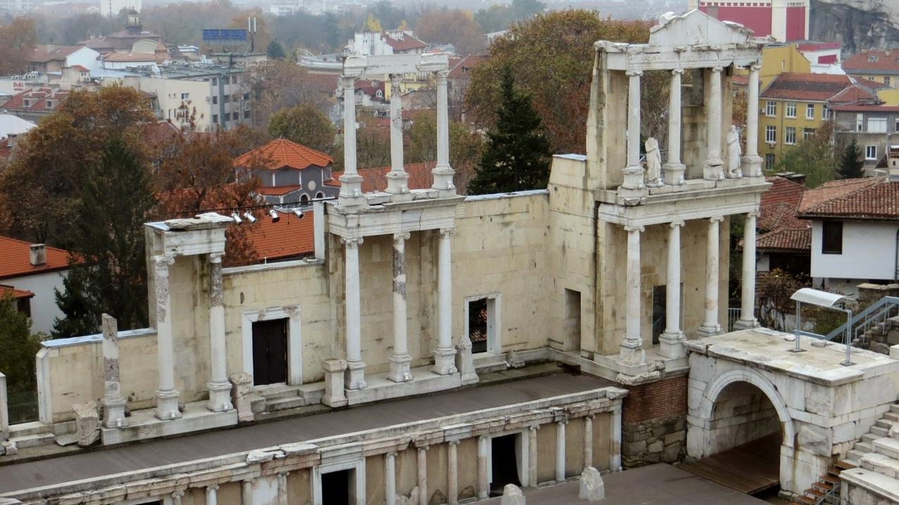 Das römische Theater, eines der Wahrzeichen der Stadt.
