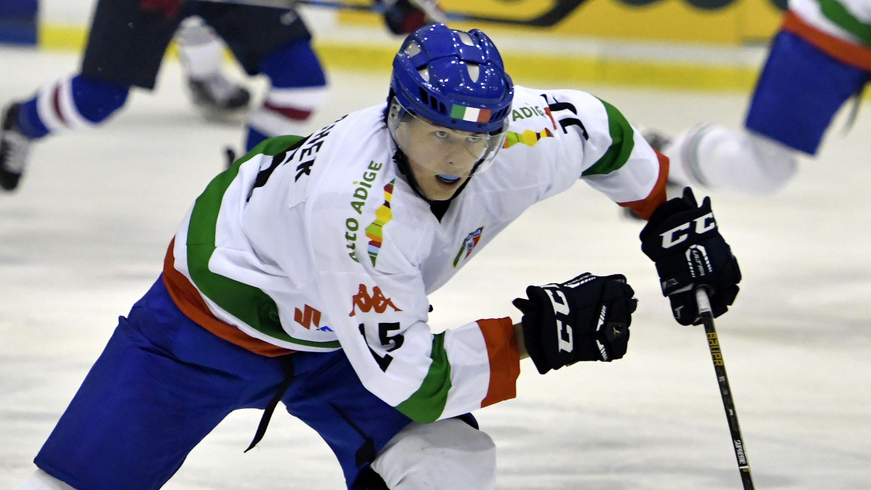 Alex Lambacher auf dem Eis