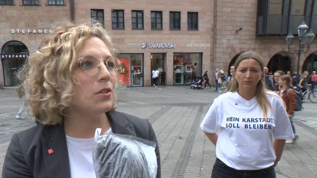 Jaana Hampel, Gewerkschaftssekretärin bei der Gewerkschaft Verdi