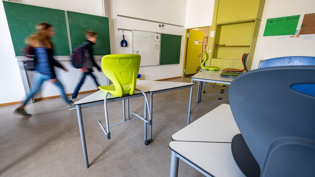 Gab es in Bayern unterschiedlich viel Unterricht - je nach Schulart?