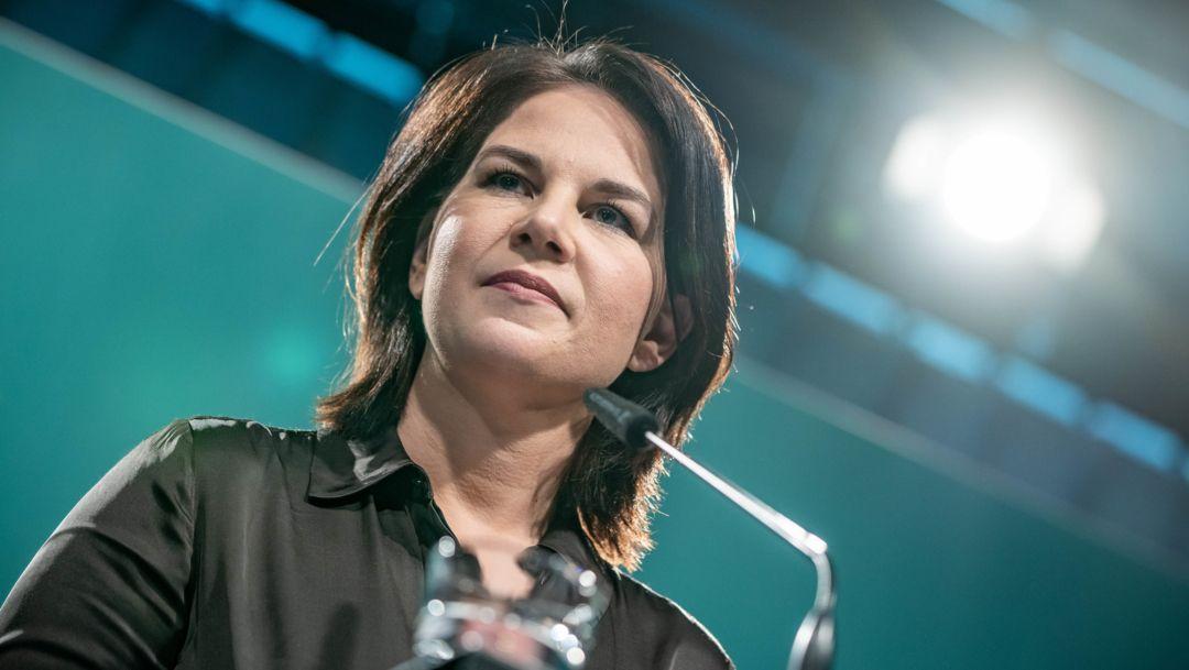 Berlin: Annalena Baerbock, Bundesvorsitzende von Bündnis 90/Die Grünen,