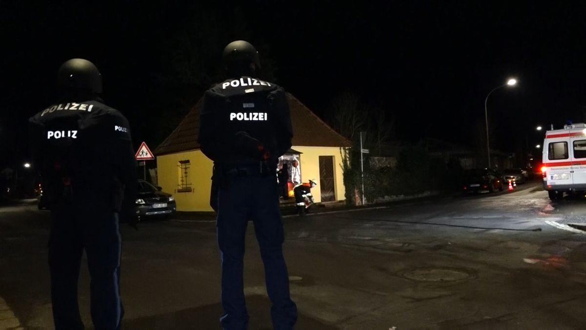 Polizei-Einsatz in Gemünden im Landkreis Main-Spessart