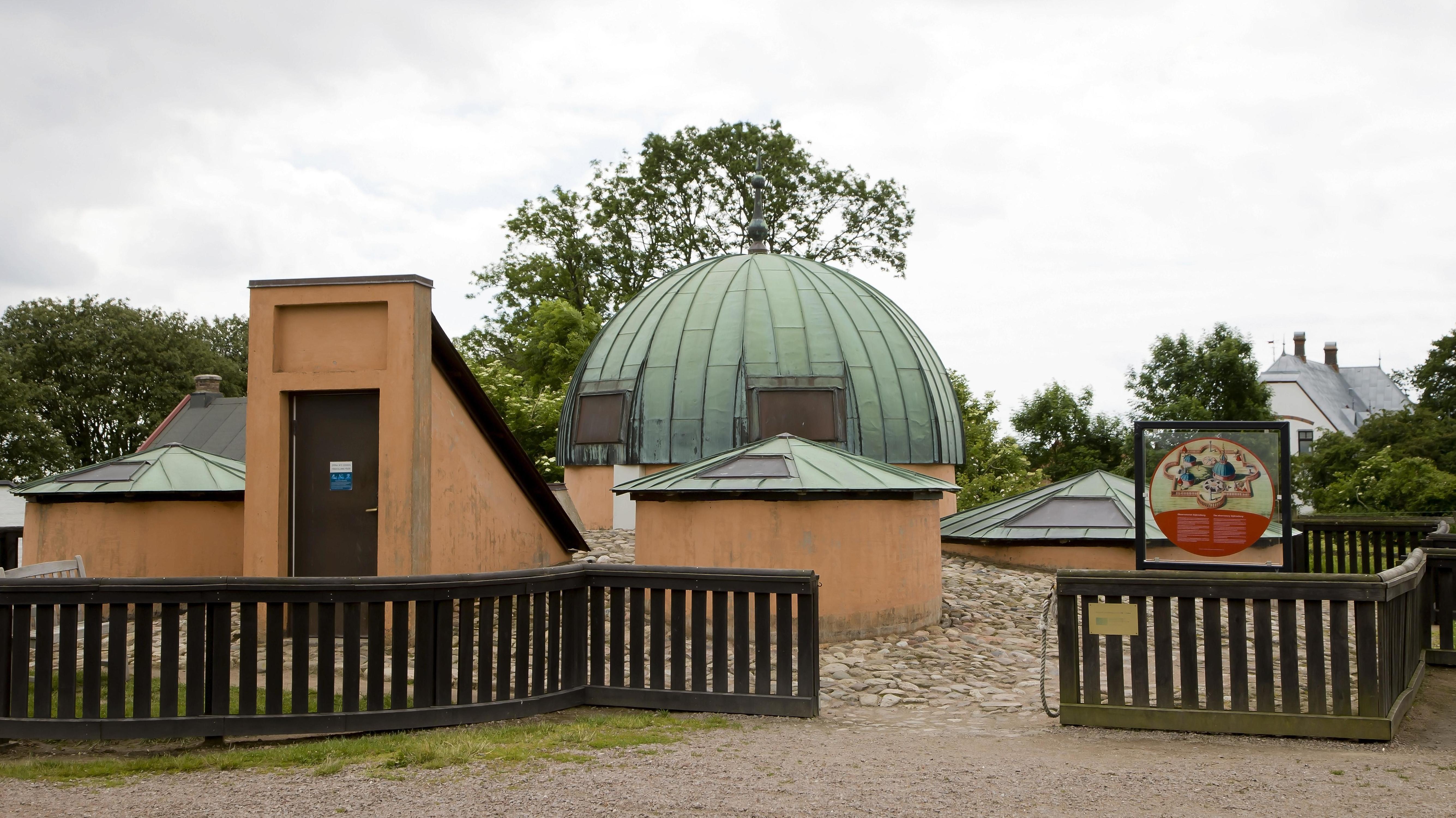 Observatorium Stjerneborg auf der Insel Ven
