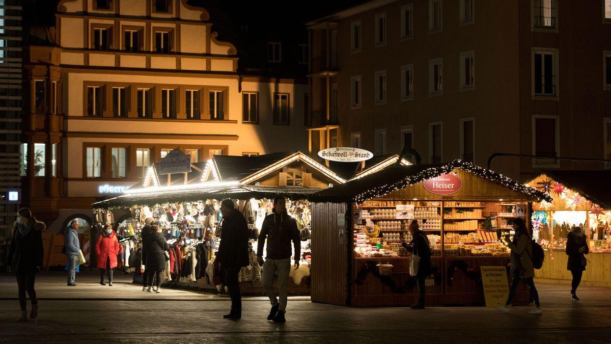 Würzburger Weihnachtsmarkt 2020