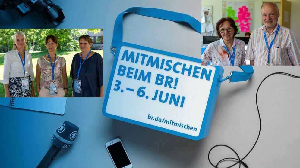 """Vom 3.-6. Juni 2019 konnten Sie beim Bayerischen Rundfunk """"mitmischen"""". Auch die Fachredaktion Religion und Orientierung war dabei."""
