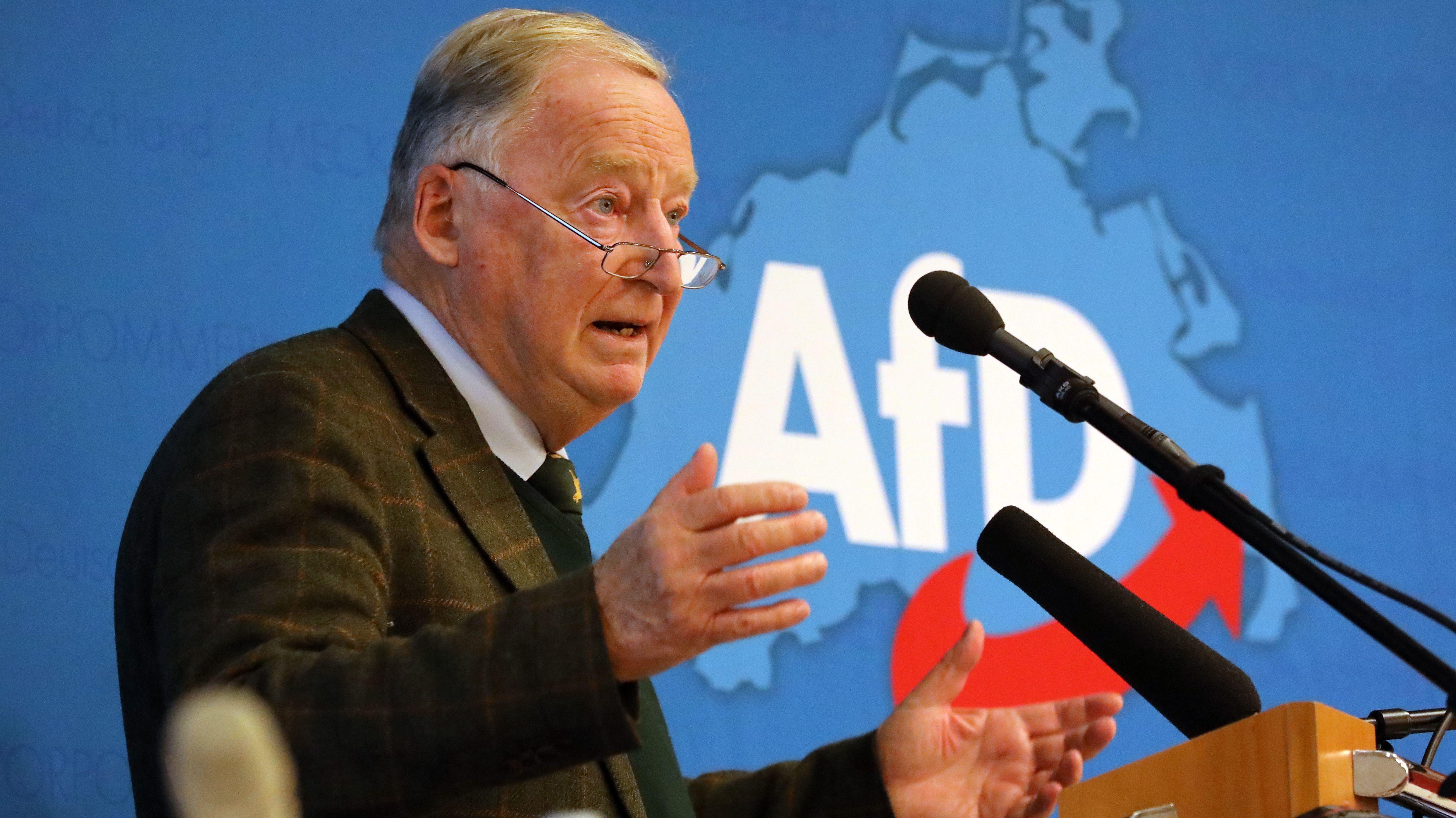 Archivbild: AfD-Bundeschef Alexander Gauland