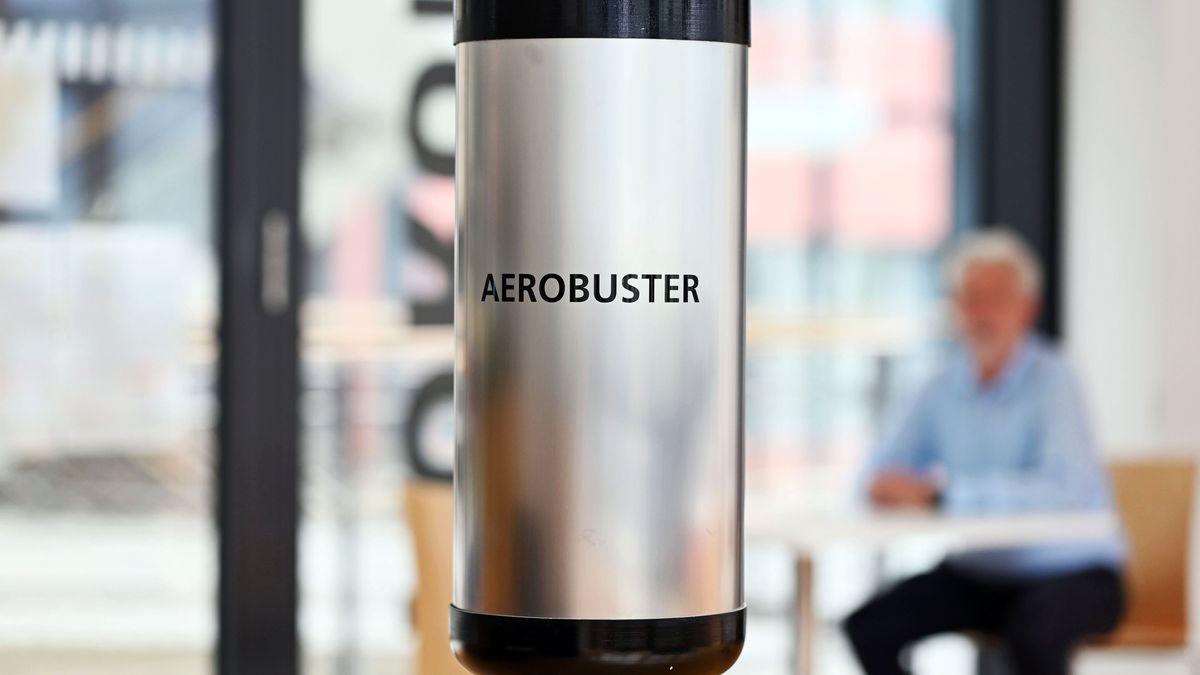Prototyp des sogenannten Aerobuster
