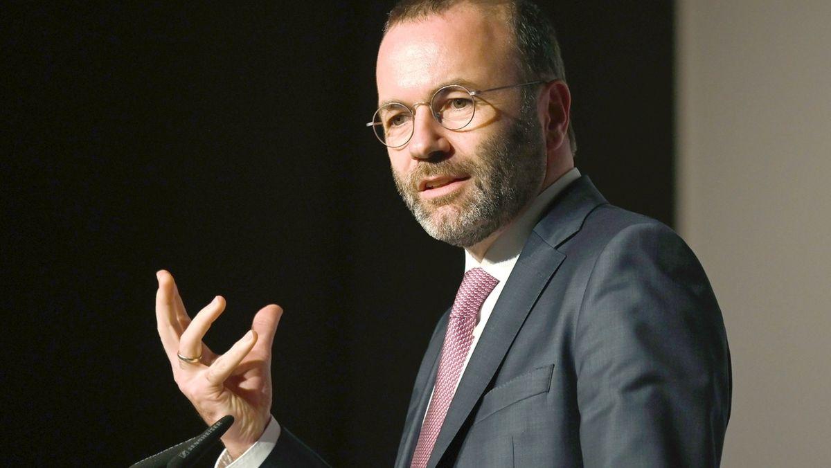 Manfred Weber (CSU), Fraktionsvorsitzender der Europäischen Volkspartei im Europäischen Parlament
