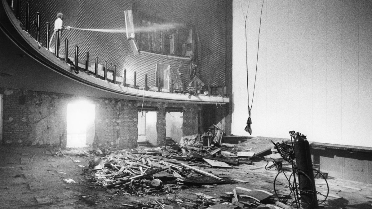 Ausgebombt: Das Münchner Residenztheater