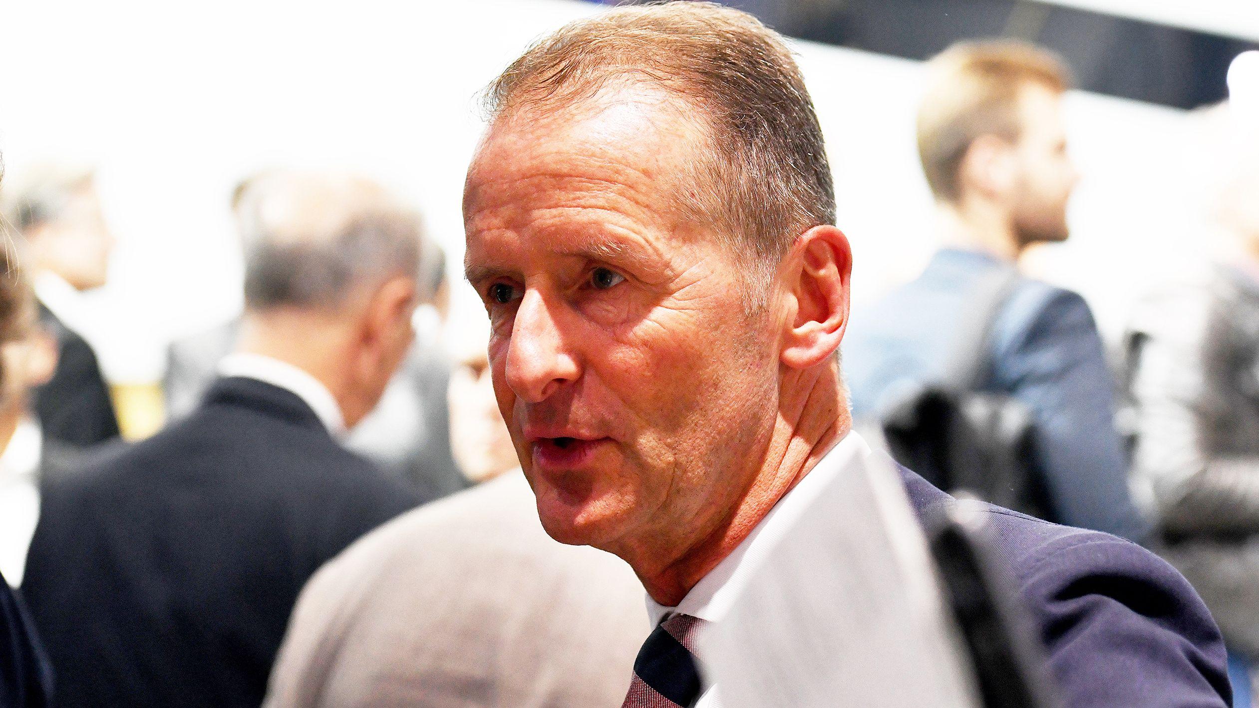Herbert Diess, Vorstandsvorsitzender der Volkswagen Aktiengesellschaft