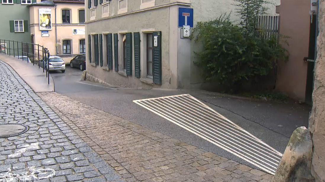 Parkplatz in Pappenheim