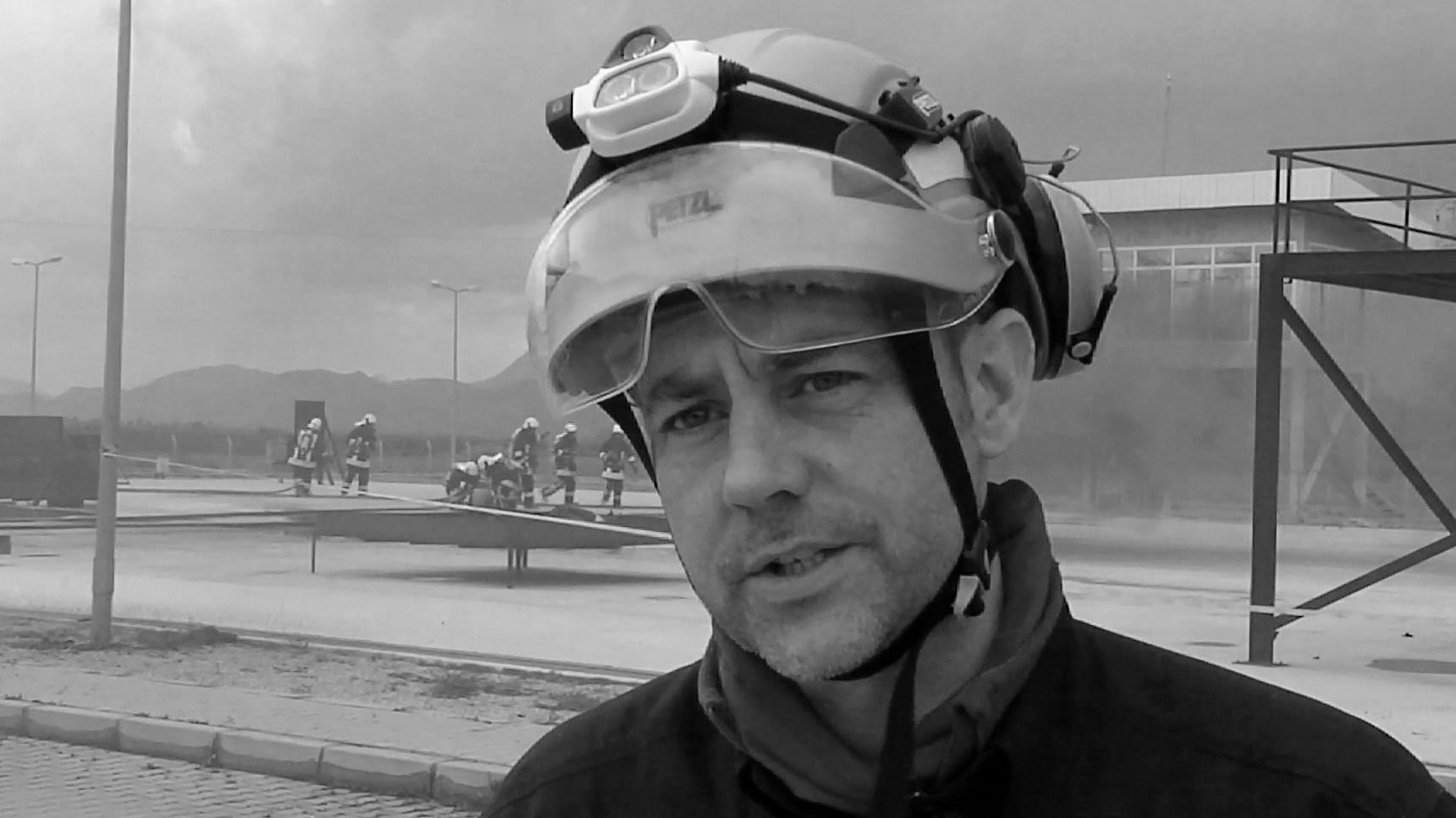 James Le Mesurier, der Mitgründer der Rettungsorganisation Weißhelme ist in Istanbul tot aufgefunden worden.