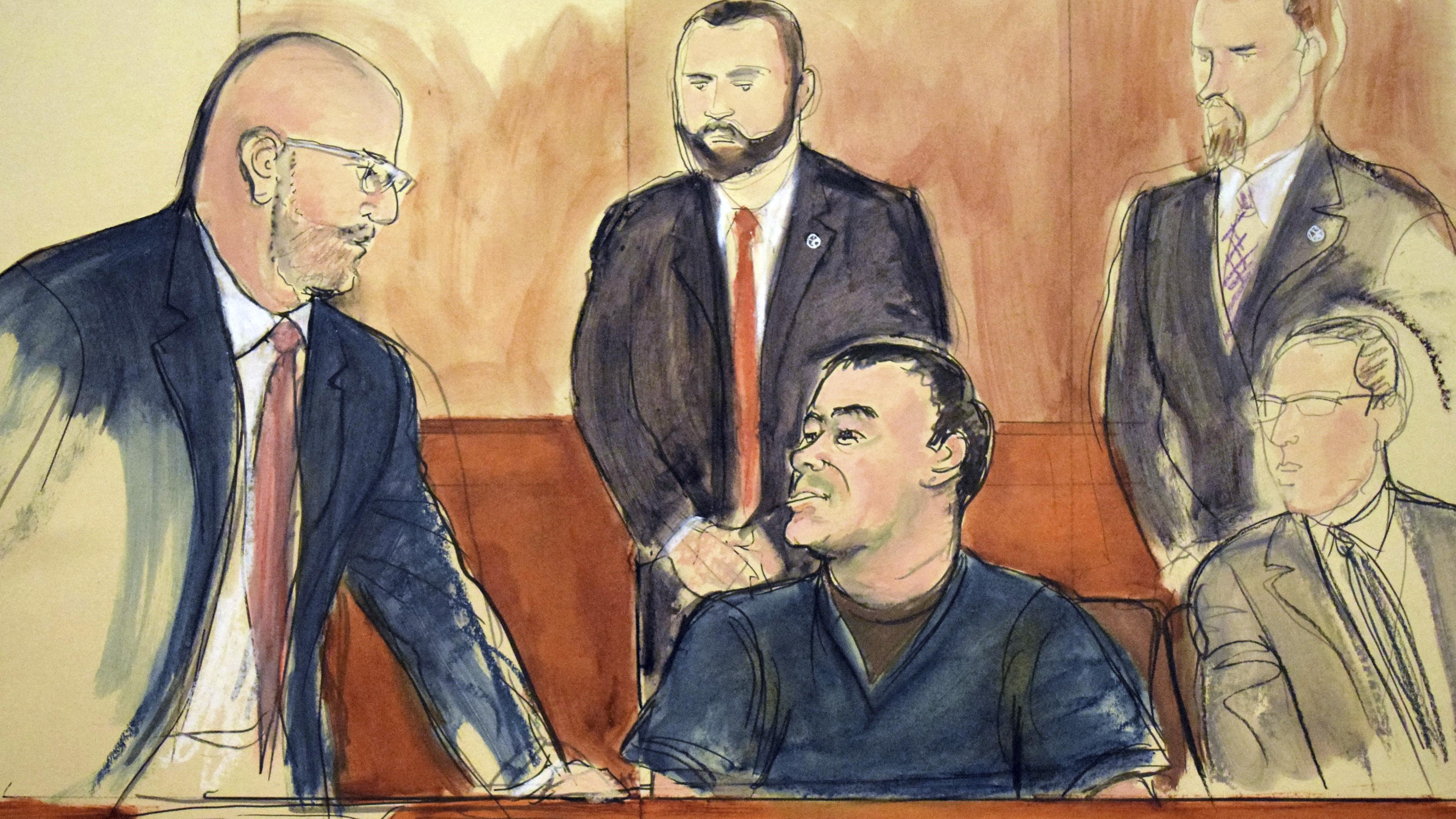 El Chapo-Prozess beginnt mit Eröffnungsplädoyers