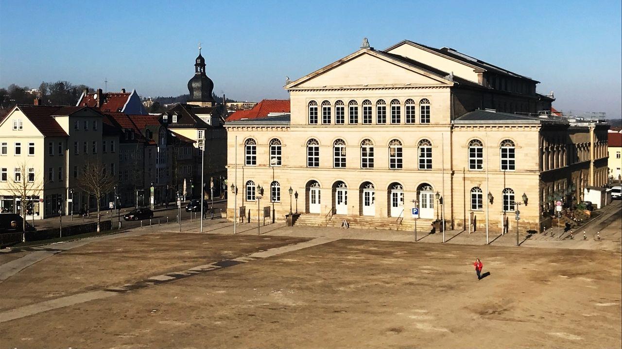 Das Landestheater in Coburg