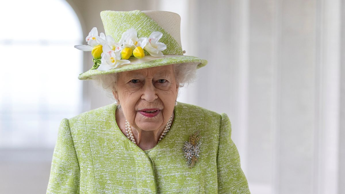 Queen Elizabeth II., britische Königin, am 31.03.2021