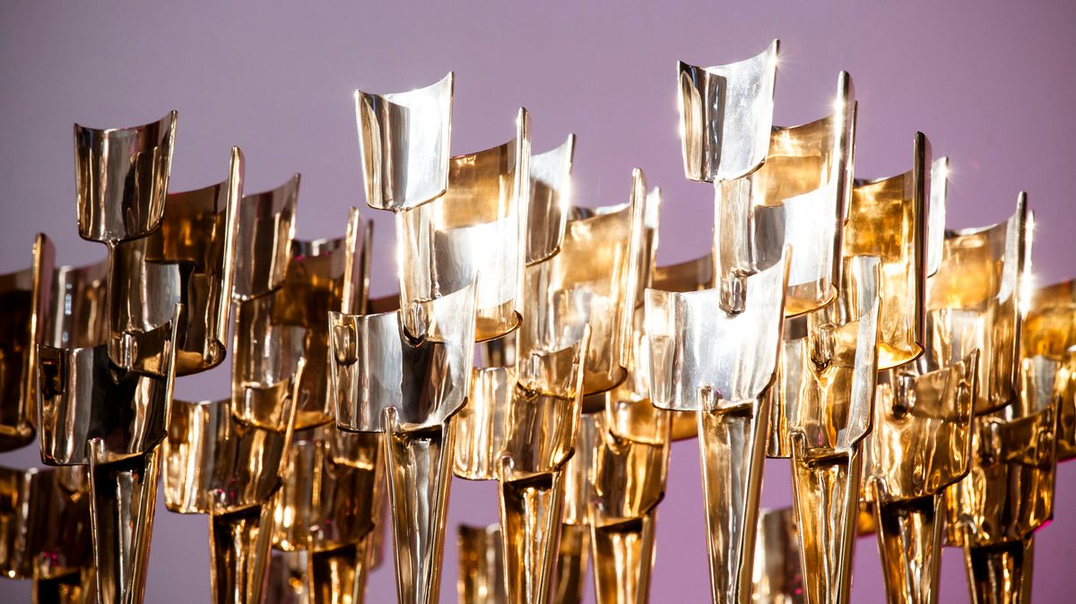 Kulturpreis Bayern: Aufgereihte Trophäen