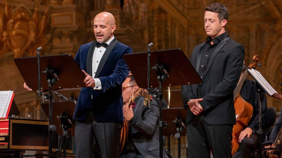 Im Markgräflichen Opernhaus Bayreuth