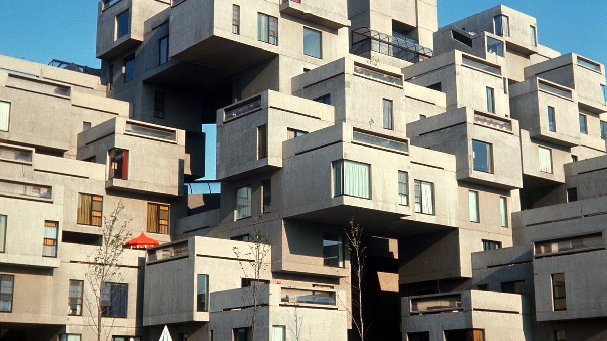 "Symbolbild: Wohnsiedlung ""Habität 67"" in Montreal, Kanada"