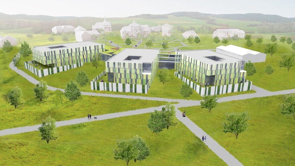 Neubau Bezirksklinikum Obermain