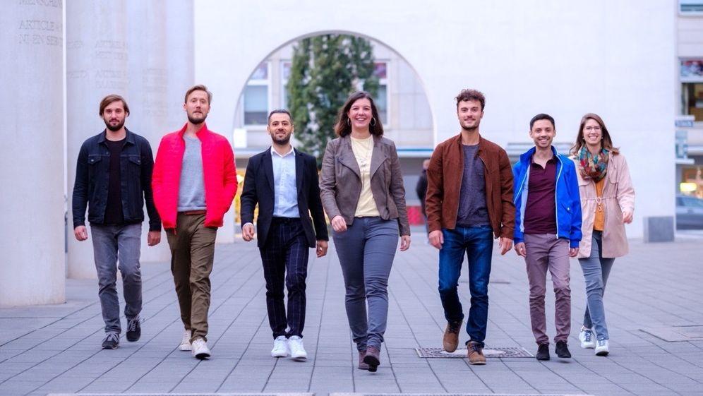 Lokalblog Nürnberg: das Team um Gründerin Alexandra Haderlein