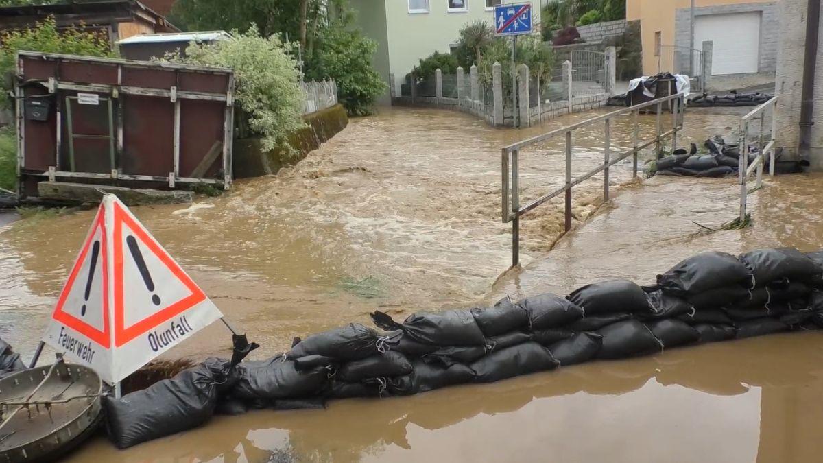 Überflutung in Windischeschenbach