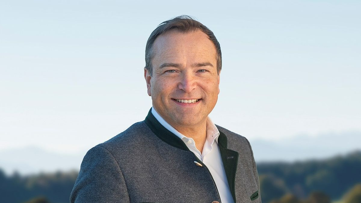 Der Landsberger Landrat Thomas Eichinger (CSU)