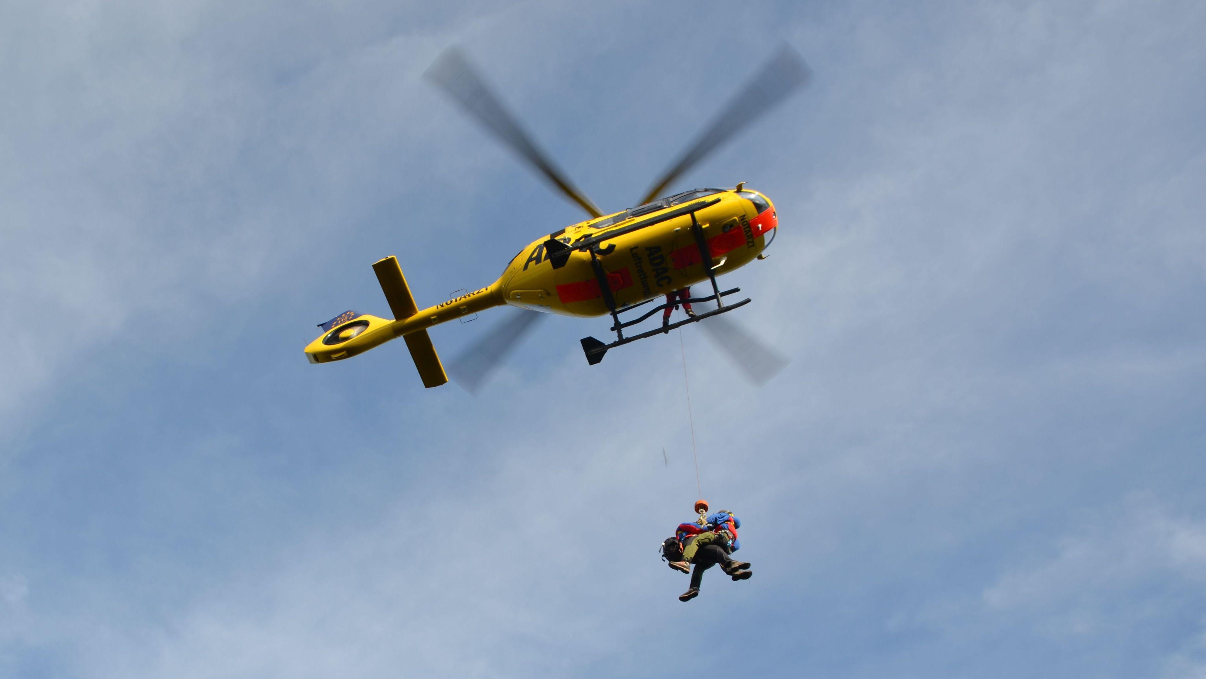 Zu den Partnern der Luftrettung gehört unter anderem auch der ADAC.