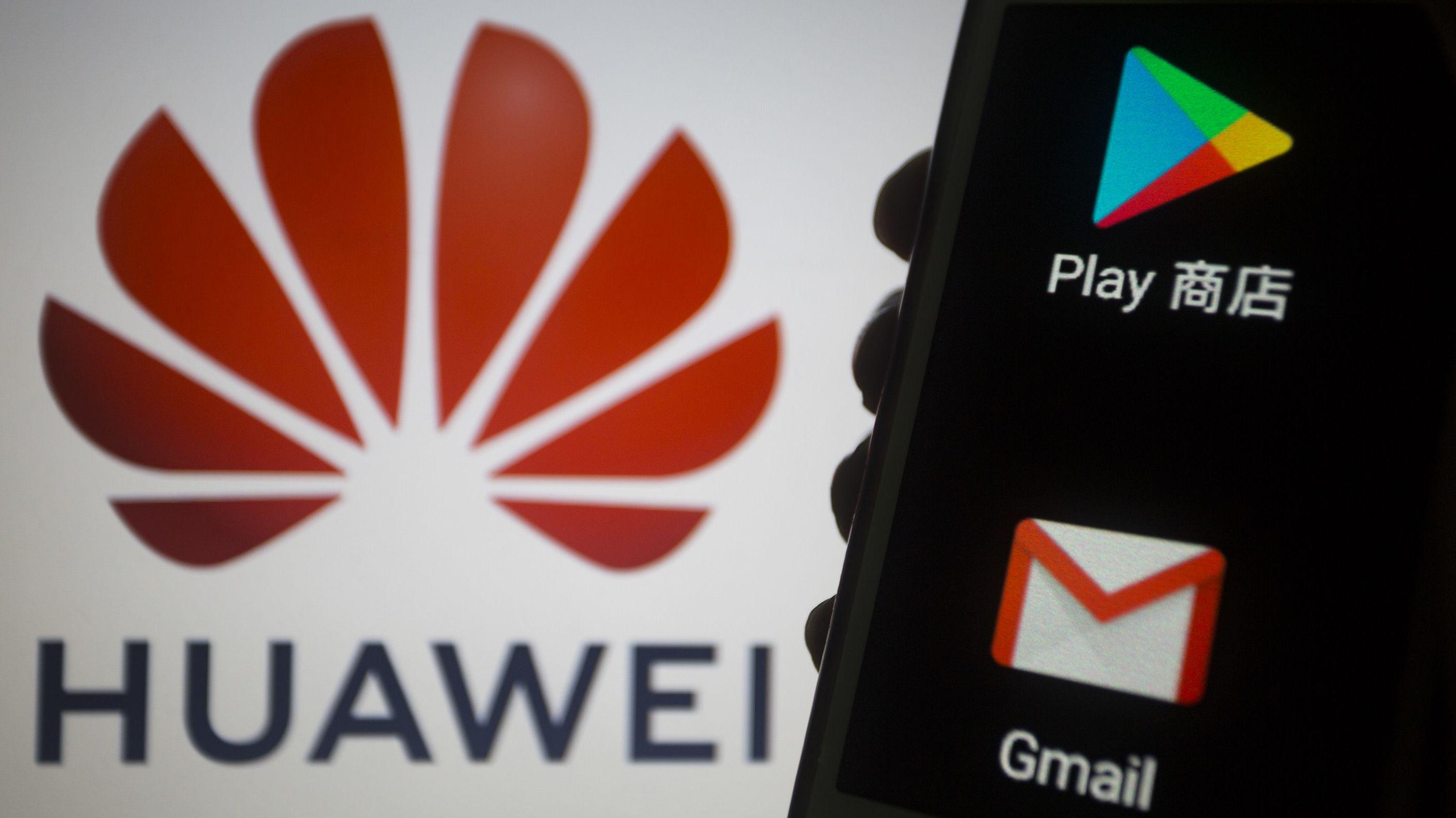 Google garantiert die Updates seines Betriebssystems Android nicht mehr für Huawei-Smartphones.