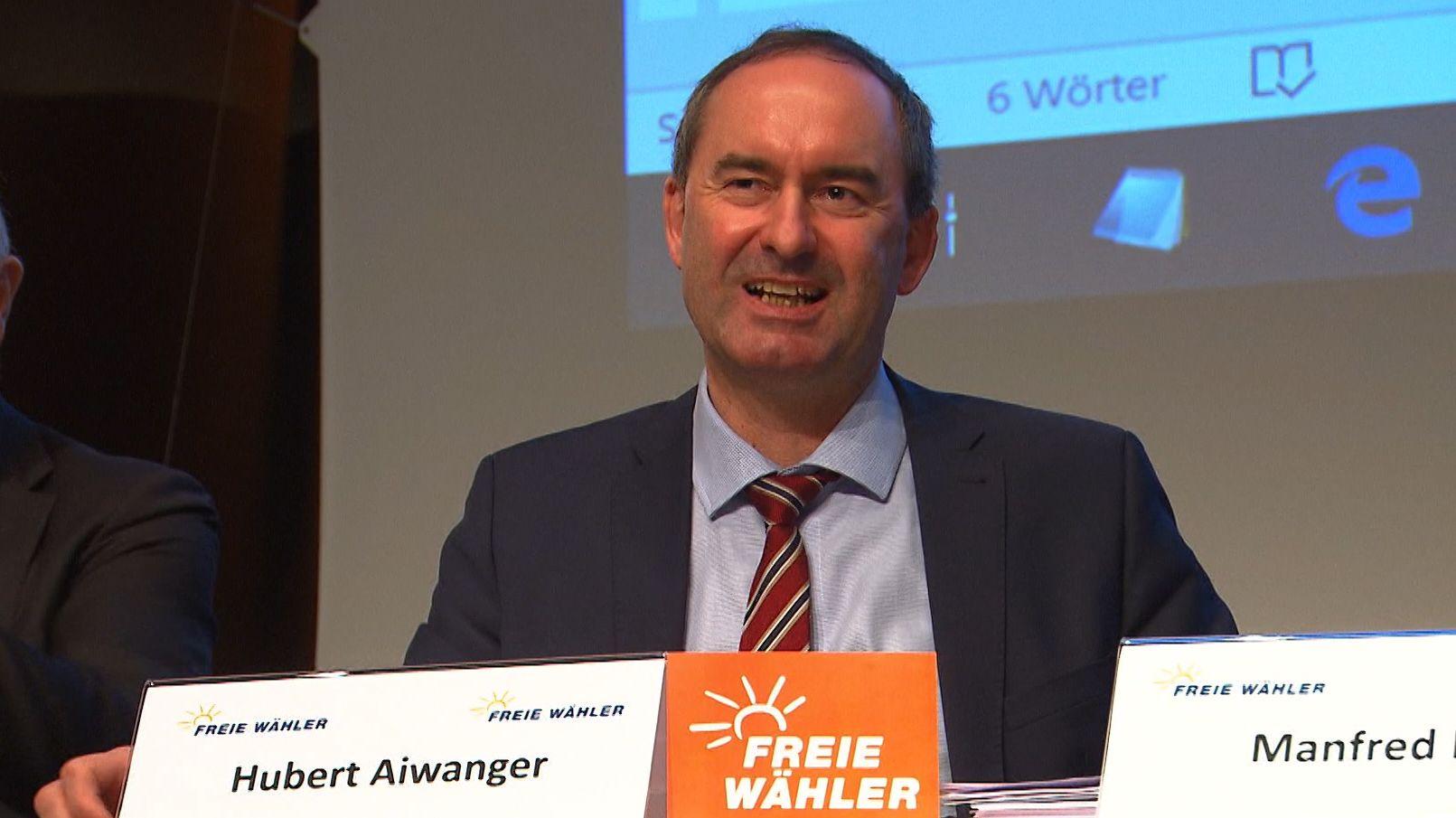 Hubert Aiwanger bleibt Chef der Freien Wähler
