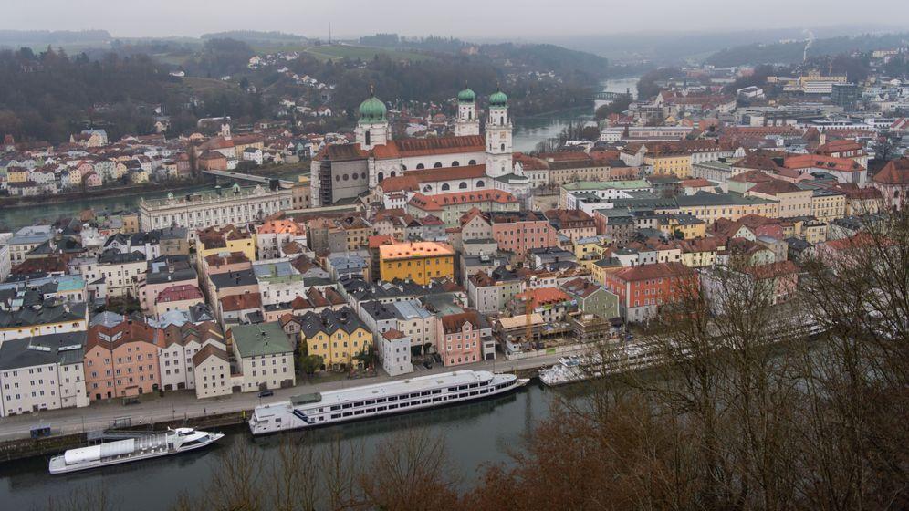 Blick auf Passau | Bild:picture alliance/dpa/Lino Mirgeler