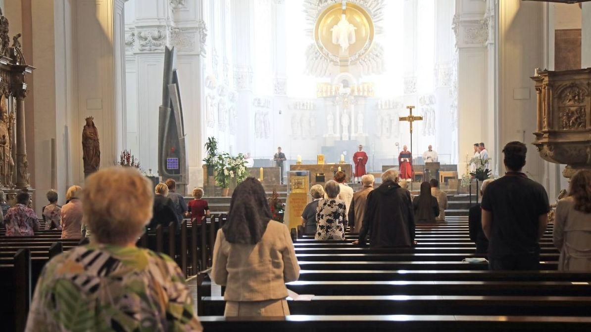 Kiliani-Gottesdienst im Würzburger Dom in Zeiten von Corona