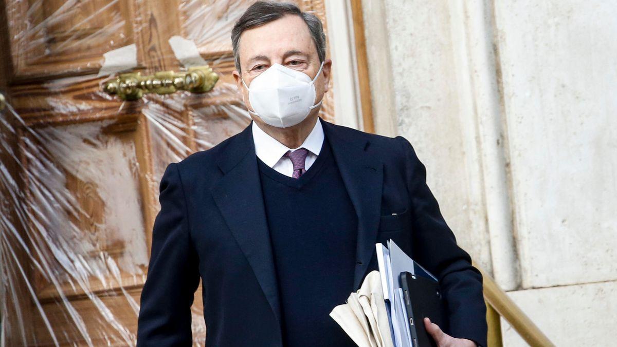 Ex EZB-Chef Mario Draghie soll Italien aus der politischen Krise führen